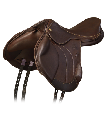 Harry Meade Monoflap XC - Brown, 3/4 Front View